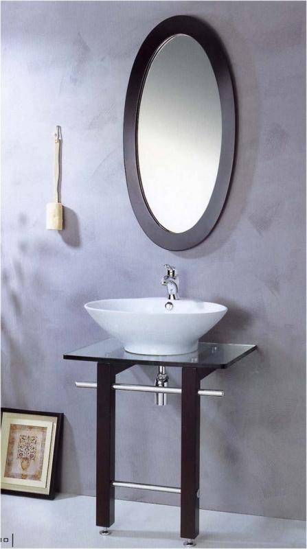 Мебель для ванной комнаты стеклянная senli т980d - 14 820 руб