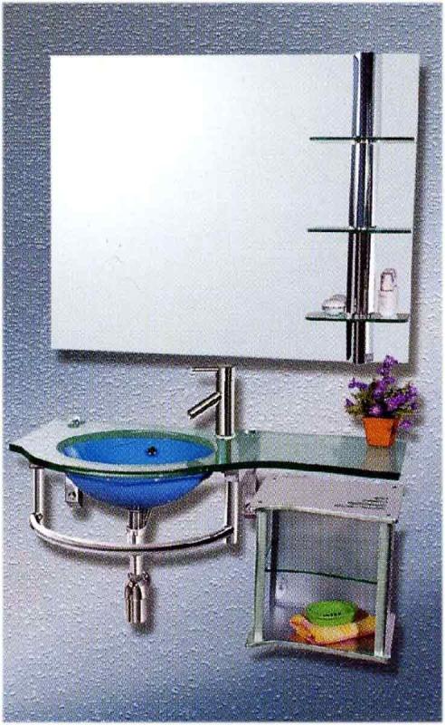 Стеклянная мебель для ванной rassland