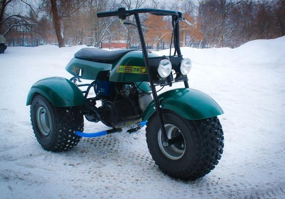 мотоцикл для охоты и рыбалки бархан